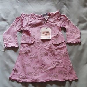 Feather Baby cute pink dress